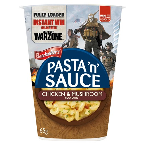 Picture of Batchelors Pasta 'n' Sauce Chicken & Mushroom Flavour 65g