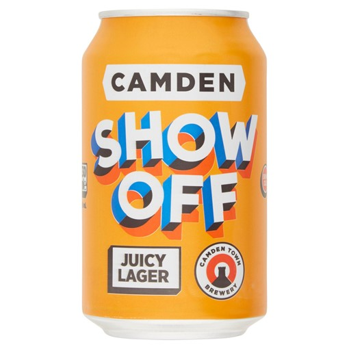 Picture of Camden Show Off Juicy Lager 330ml