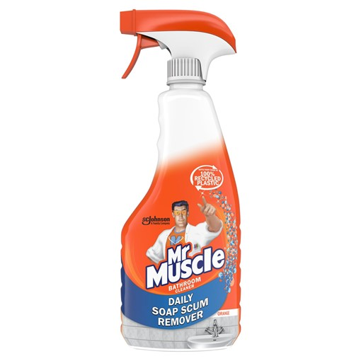 Picture of Mr Muscle Daily Soap Scum Remover Bathroom Spray 500ml
