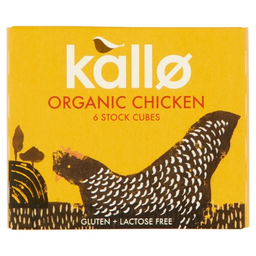 Picture of Kallo 6 Organic Chicken Stock Cubes 66g