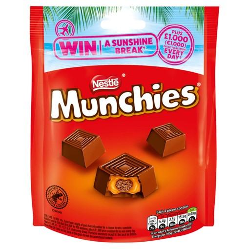 Picture of Munchies Milk Chocolate & Caramel Sharing Bag 104g