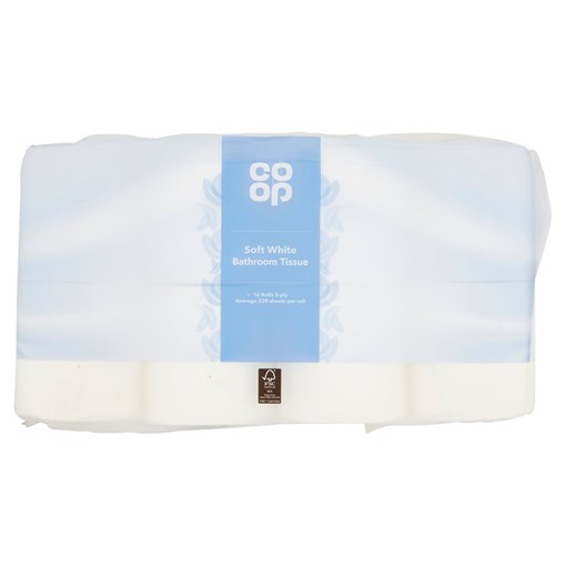 Picture of Co Op Soft White Bathroom Tissue