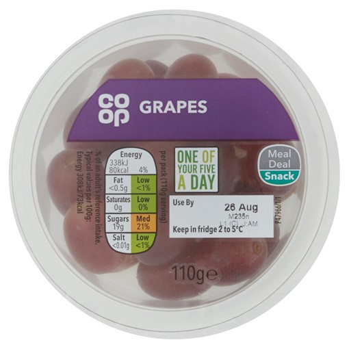 Picture of Co-op Grapes 110g