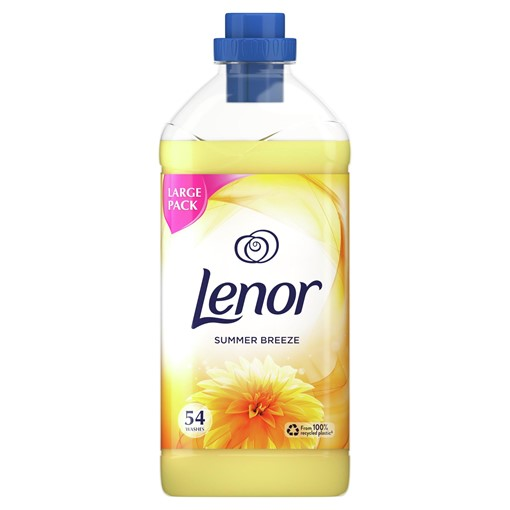 Picture of Lenor Fabric Conditioner With Summer Breeze 1.9L 54 Washes
