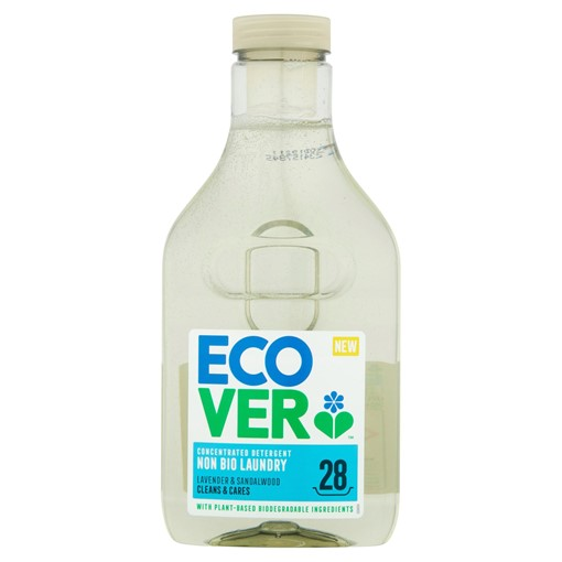Picture of Ecover Non-Bio Laundry Concentrated Detergent Lavender & Sandalwood 25 Washes 875ml