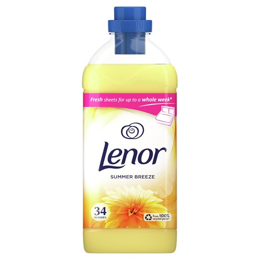 Picture of Lenor Fabric Conditioner With Summer Breeze 910ml 26 Washes
