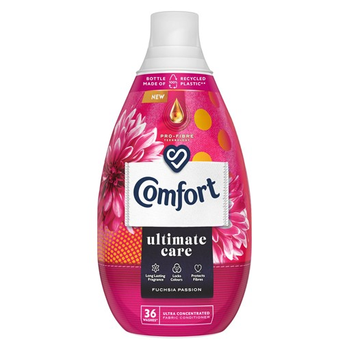 Picture of Comfort Ultimate Care Fuchsia Passion Ultra-Concentrated Fabric Conditioner 36 Wash 540 ml