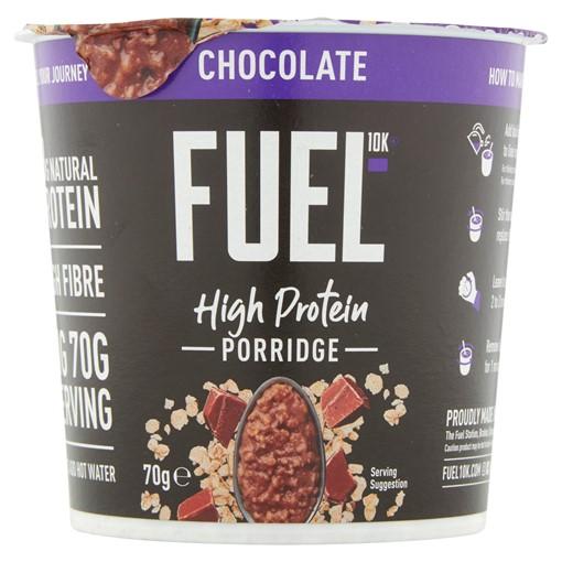 Picture of FUEL10K High Protein Chocolate Porridge Pot 70g
