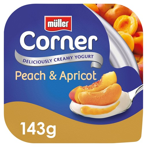 Picture of Müller Corner Peach and Apricot Yogurt 143g