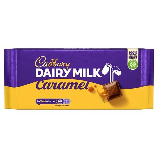 Picture of Cadbury Dairy Milk Caramel Chocolate Bar 200g