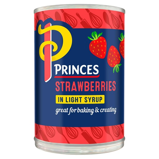 Picture of Princes Strawberries in Light Syrup 410g