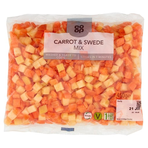 Picture of Co-op Carrot & Swede Mix 450g