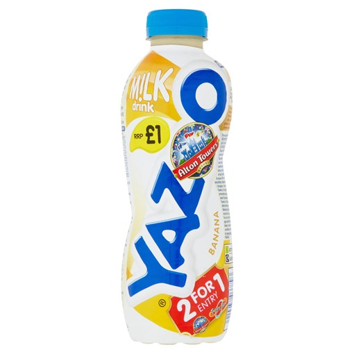 Picture of Yazoo Banana Milk Drink 400ml