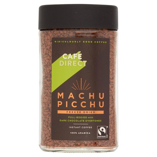 Picture of Cafédirect Fairtrade Machu Picchu Instant Coffee 100g