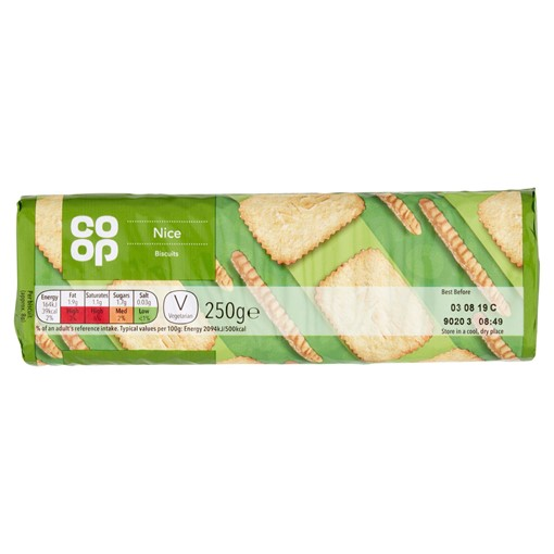 Picture of Co-op Nice Biscuits 250g