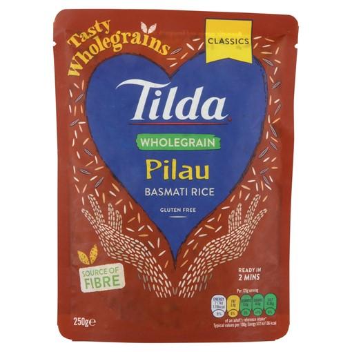 Picture of Tilda Wholegrain Pilau Rice 250g