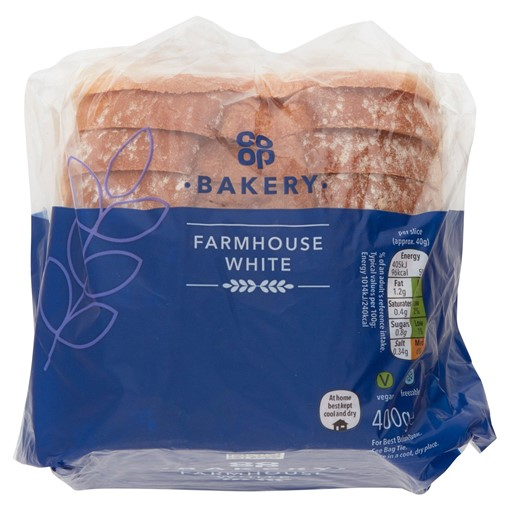 Picture of Co-op Farmhouse White Loaf 440g