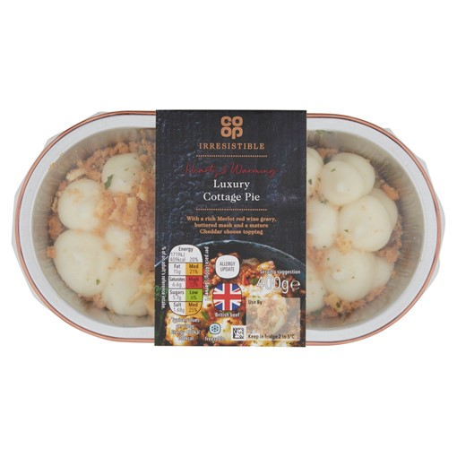 Picture of Co-op Irresistible Cottage Pie 400g