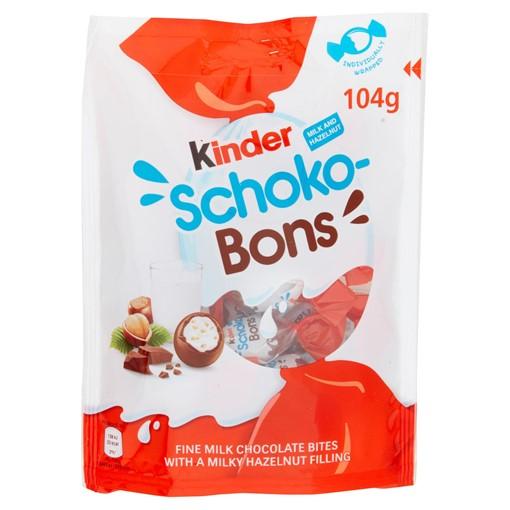 Picture of Kinder Schoko-Bons Milk and Hazelnut Sharing Bag 104g