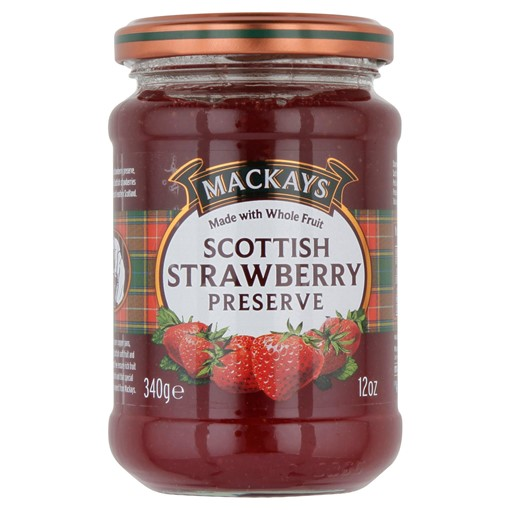 Picture of Mackays Scottish Strawberry Preserve 340g