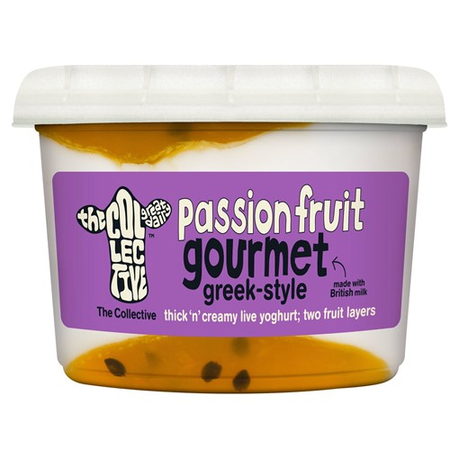 Picture of The Collective Passion Fruit Gourmet Live Yoghurt 450g