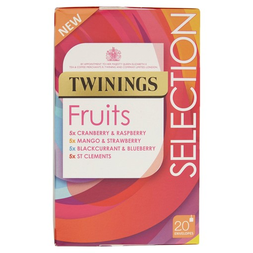 Picture of Twinings Fruits Selection 20 Envelopes 40g