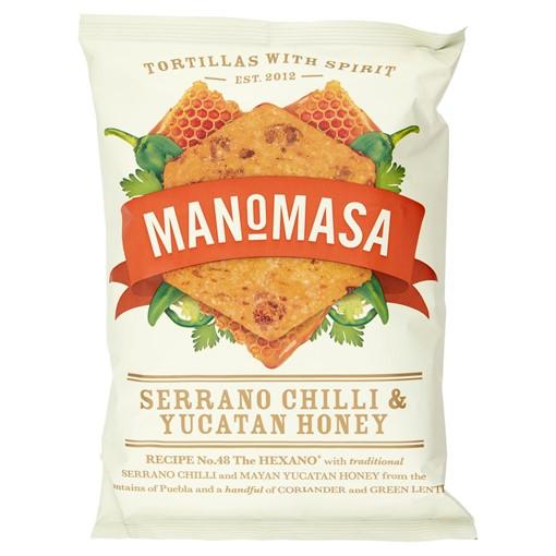Picture of Manomasa Serrano Chilli & Yucatan Honey 160g