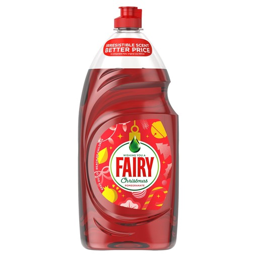 Picture of Fairy Clean & Fresh Washing Up Liquid Festive Pomegranate 1.19L