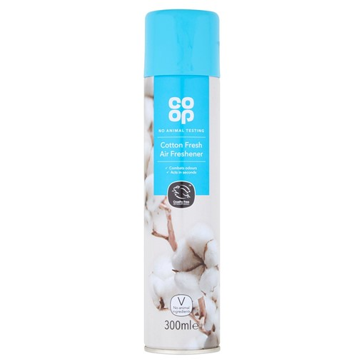 Picture of Co-op Cotton Fresh Air Freshener 300ml