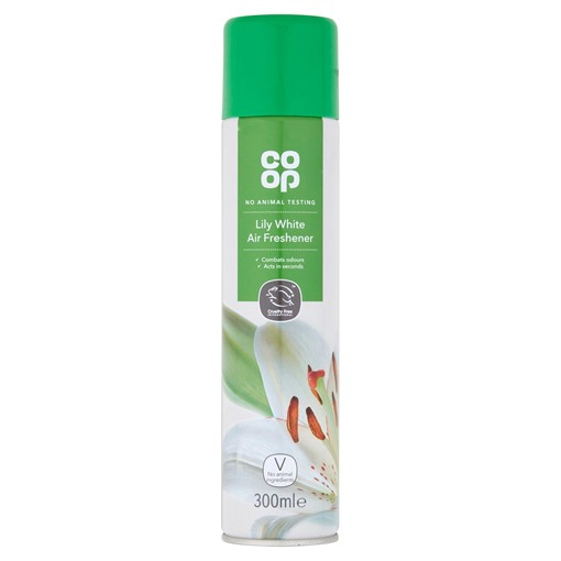 Picture of Co-op Lily White Air Freshener 300ml
