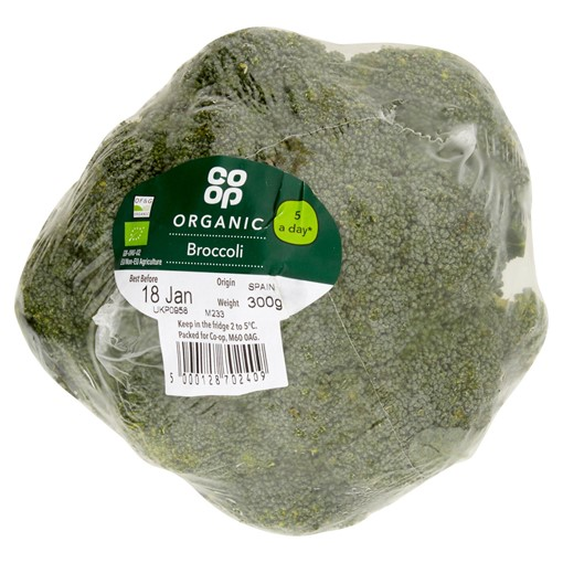 Picture of Co-op Organic Broccoli 300g
