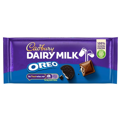 Picture of Cadbury Dairy Milk with Oreo Chocolate Bar 120g