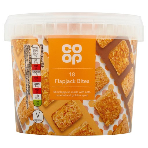 Picture of Co-op 18 Flapjack Bites