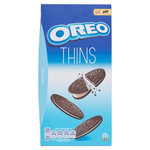 Picture of Oreo Thins Original Sandwich Biscuit 192g