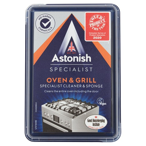 Picture of Astonish Specialist Oven & Grill Cleaner & Sponge 250g
