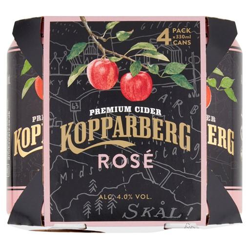 Picture of Kopparberg Premium Cider Rosé 4 x 330ml