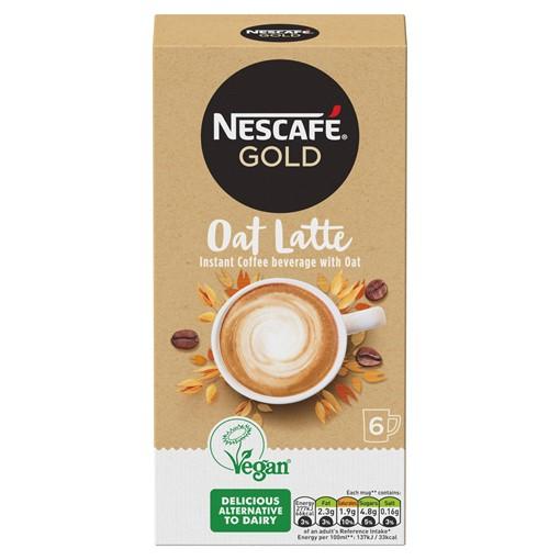 Picture of Nescafé Gold Non-Dairy Oat Latte Instant Coffee 6 x 16g Sachets