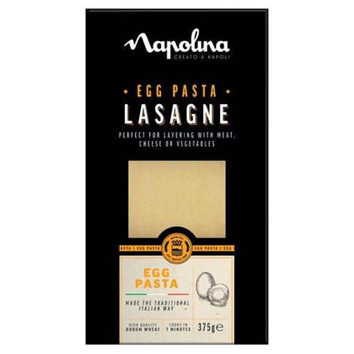 Picture of Napolina Egg Pasta Lasagne 375g