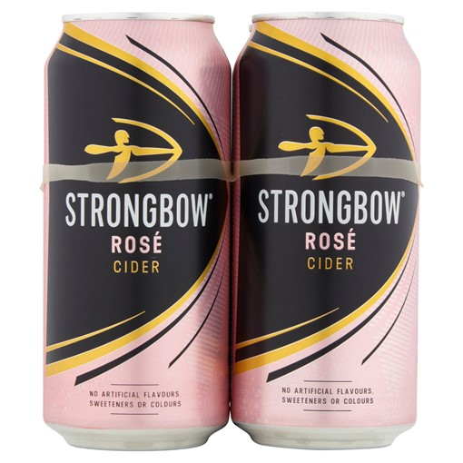 Picture of Strongbow Rosé Cider 4 x 440ml Cans