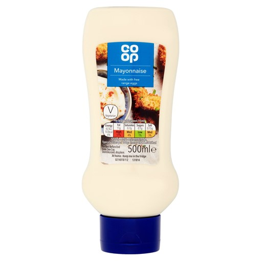 Picture of Co-op Real Mayonnaise 500ml