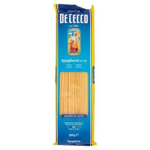 Picture of De Cecco Spaghetti No 12 500g