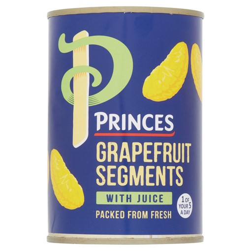 Picture of Princes Grapefruit Segments with Juice 411g