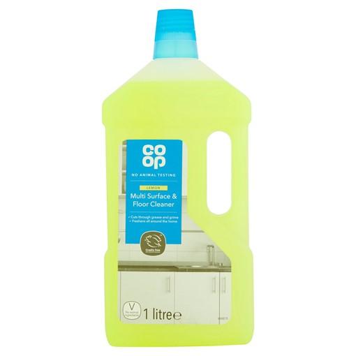 Picture of Co-op Multi Surface & Floor Cleaner Lemon 1 Litre