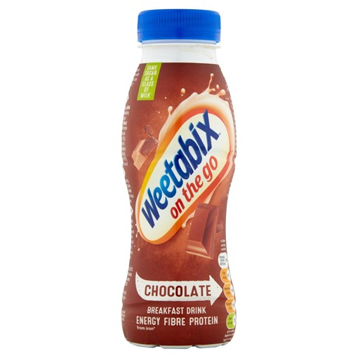 Picture of Weetabix On the Go Breakfast Drink Chocolate 250ml