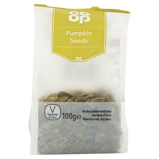 Picture of Co Op Pumpkin Seeds 100g