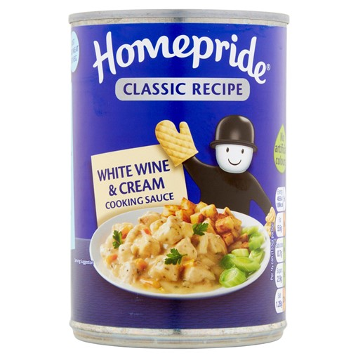 Picture of Homepride White Wine & Cream Cooking Sauce 400g