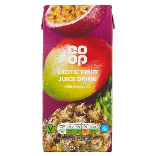 Picture of Co-op Exotic Juice Drink 1 Litre