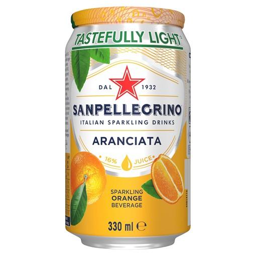 Picture of San Pellegrino Orange 330ml