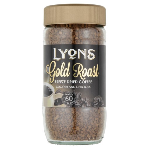 Picture of Lyons Gold Roast Freeze Dried Coffee 100g