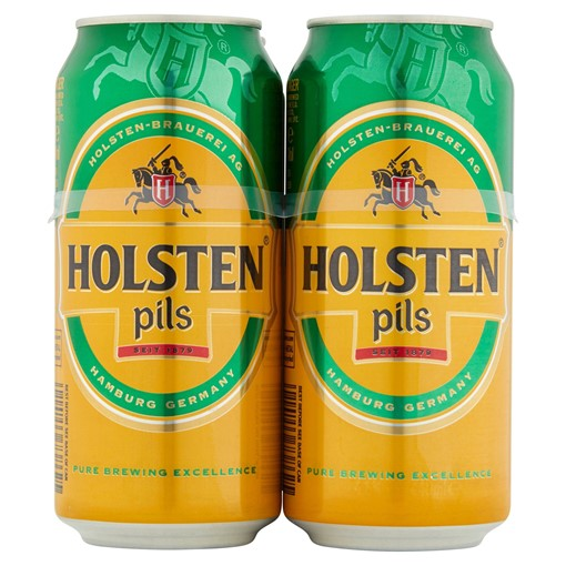 Picture of Holsten Pils Lager Beer 4 x 440ml